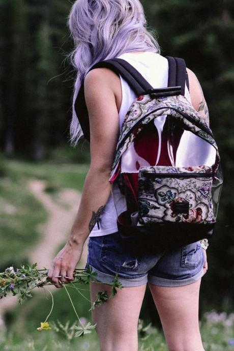 Fusion Floral Backpack